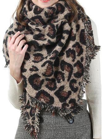Leopard modă/Cald Eșarfă