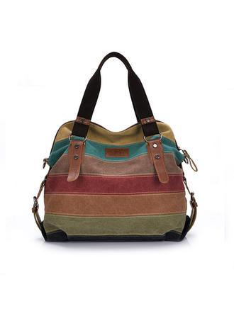 Splice Color/Multi-funcțional Tote Bags/Geantă pe Umăr/Hobo Pungi
