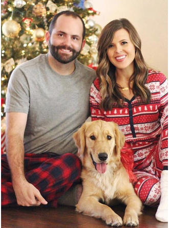 Striped Tenue Familiale Assortie Pyjama De Noël