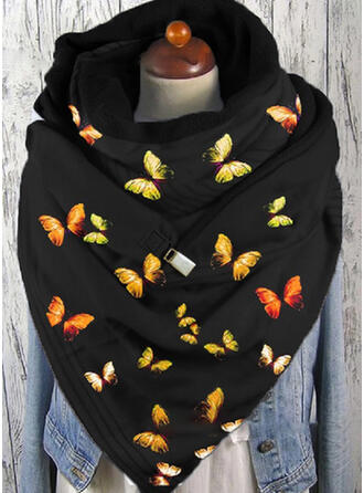 Colorful fashion/Warm/Butterfly Design Scarf