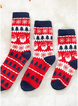 Brad de Crăciun/Crăciun Crăciun Confortabil/Crăciun/Șosete echipaj/De Familie/Unisex Şosete