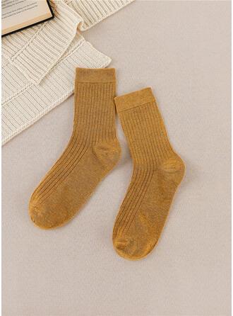 Culoare solida Cald/Confortabil/Femei/Șosete sferturi Şosete