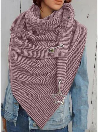 Solid Color/Retro/Vintage fashion/Comfortable/Triangle Scarf