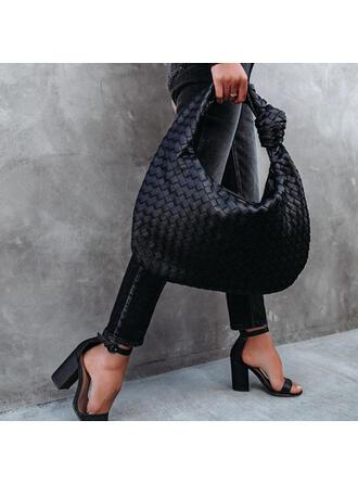 La modă/Dumpling Shaped/Împletit Tote Bags
