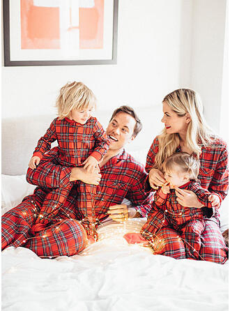 Carouri Aile Eşleşen Pijama