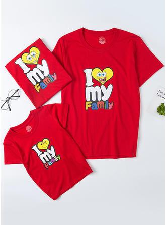 Levél Rajzfilm Családi T-shirt