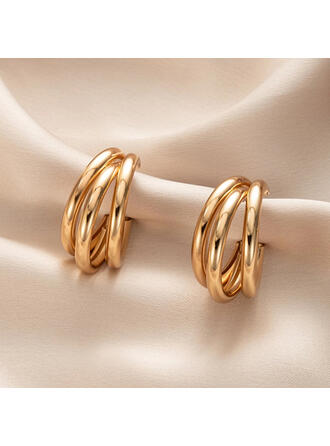 Stylish Alloy Women's Earrings 2 PCS
