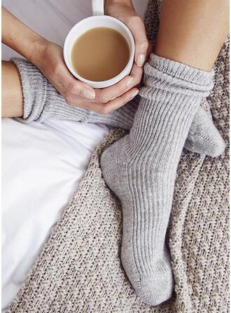 Ensfarget Varm/Komfortabel/kvinner/Crew sokker Sokker