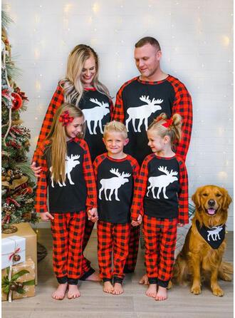 Північний олень Пліда Для сім'ї Різдвяні піжами