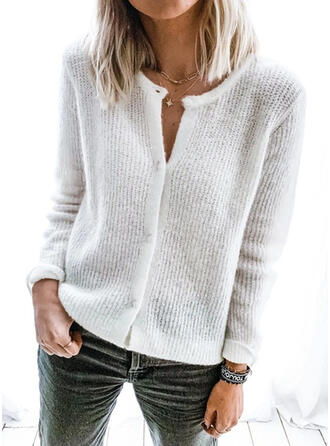 Solid Striat Cardigan