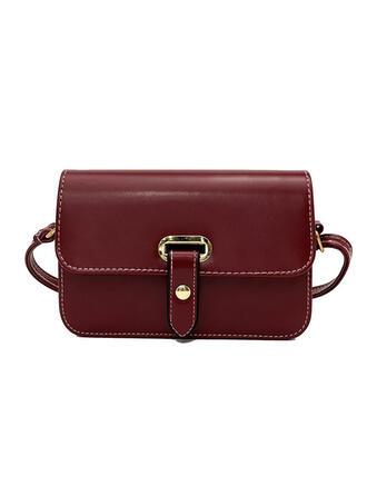 Elegante/Clássica/Vintage Bolsas Crossbody/Bolsa de Ombro