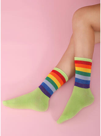Renkli klişe Renkli/Crew Çorap Çorap