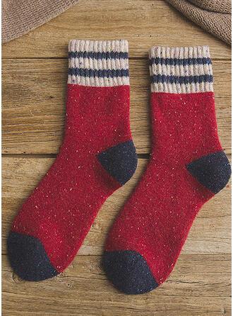 Stikking Komfortabel/Jul/Crew sokker/Unisex Sokker