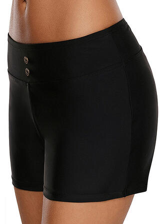 Solid Color Bottom Classic Casual Bottoms Swimsuits