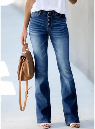 înfășurate Plus Size Elegant Epocă Blugi denim